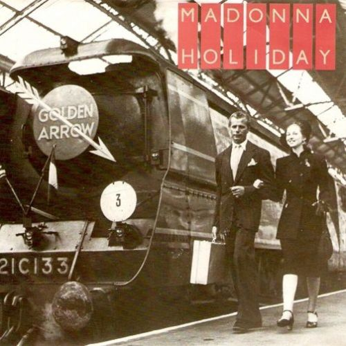 MADONNA Holiday Vinyl Record 7 Inch French Sire 1983